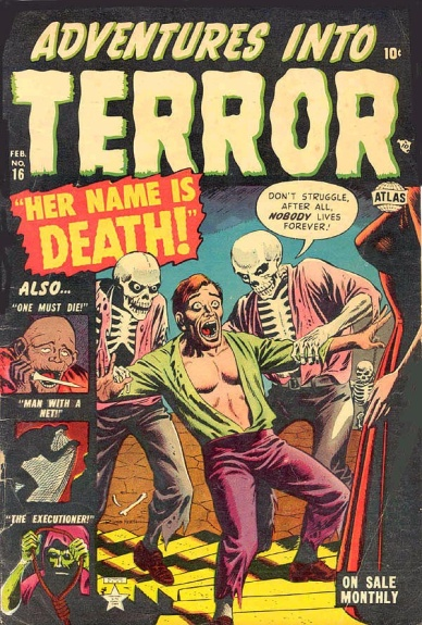 Adventures Into Terror 16 Cover Image
