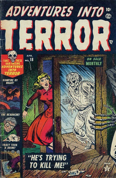 Adventures Into Terror 18 Cover Image