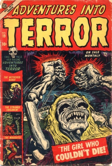 Adventures Into Terror 19 Cover Image