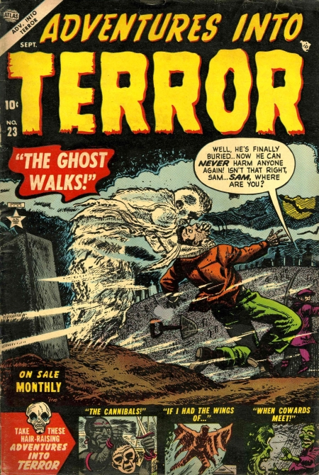 Adventures Into Terror 23 Cover Image