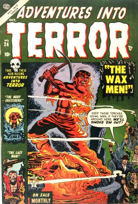 Adventures Into Terror 24 Cover Image