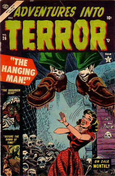 Adventures Into Terror 26 Cover Image