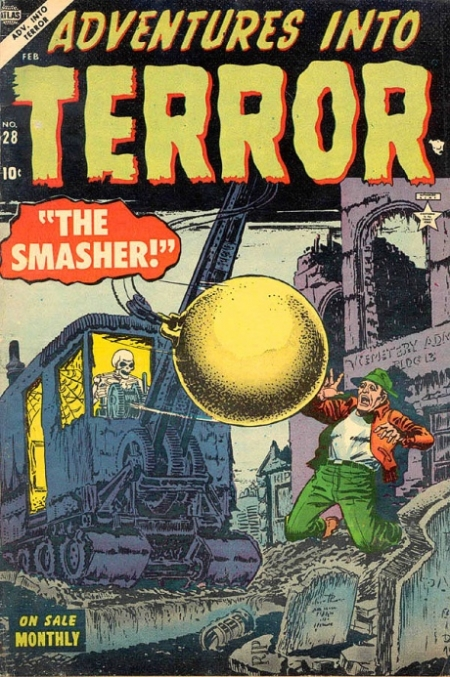 Adventures Into Terror 28 Cover Image