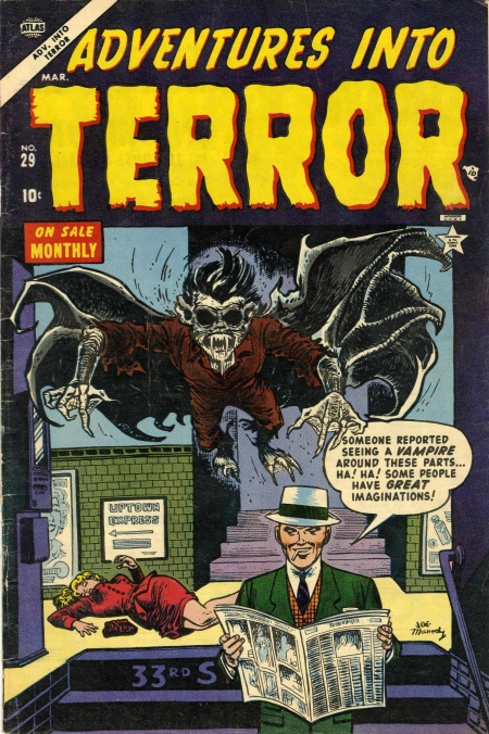 Adventures Into Terror 29 Cover Image
