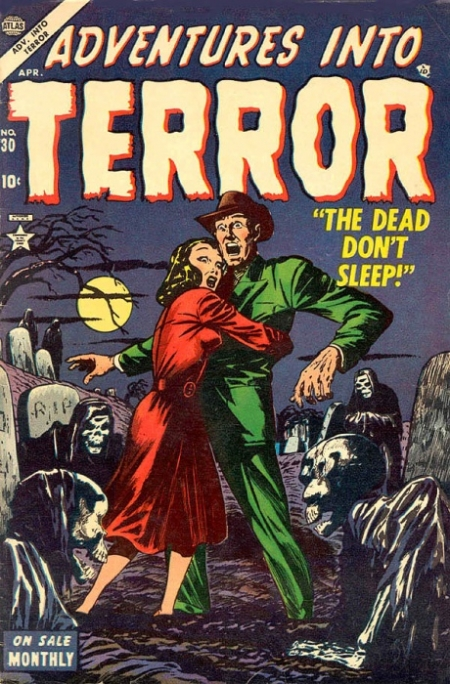 Adventures Into Terror 30 Cover Image