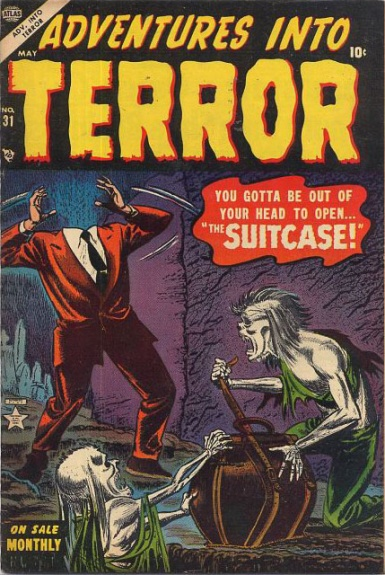 Adventures Into Terror 31 Cover Image