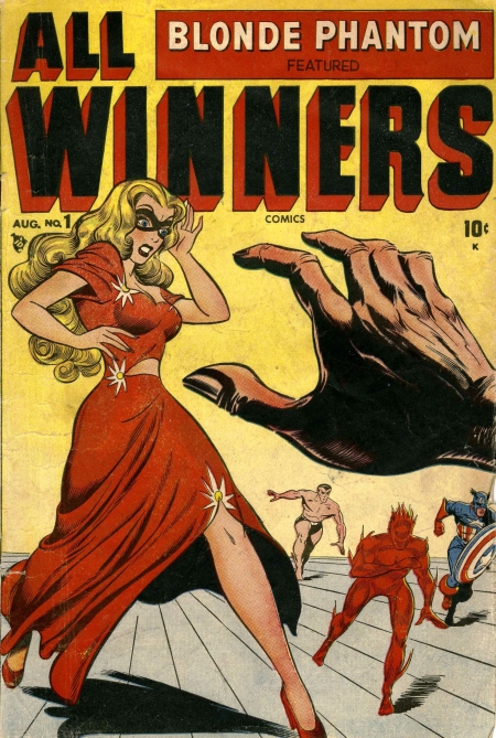 All Winners Comics 1 Cover Image