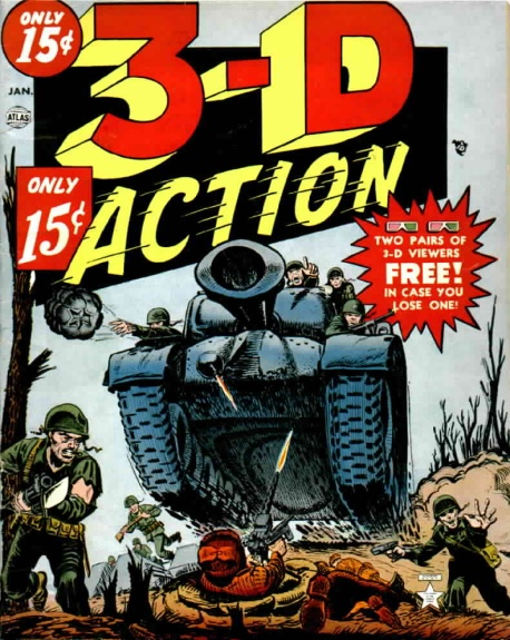 3-D Action 1 Cover Image