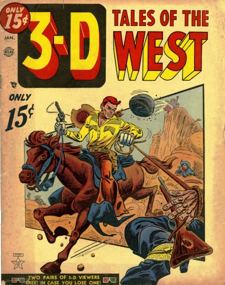 3-D Tales of the West 1 Cover Image