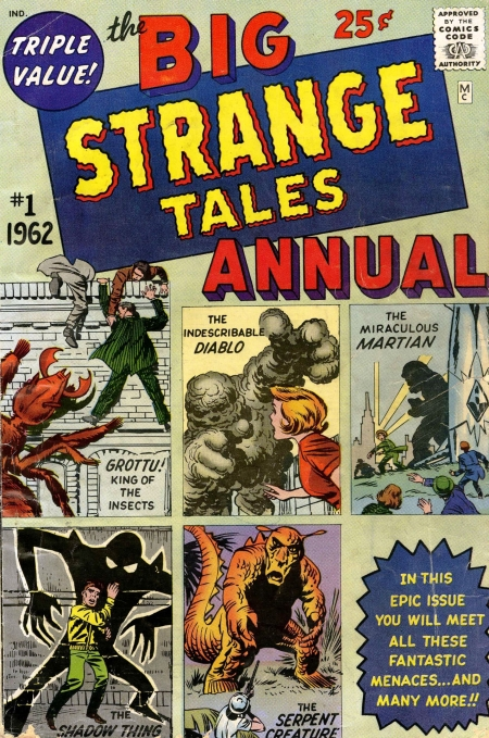 Strange Tales Annual 1 Cover Image