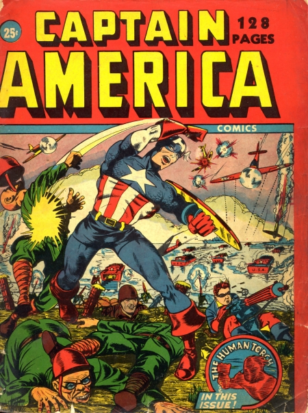 Captain America 128 Page nn Cover Image