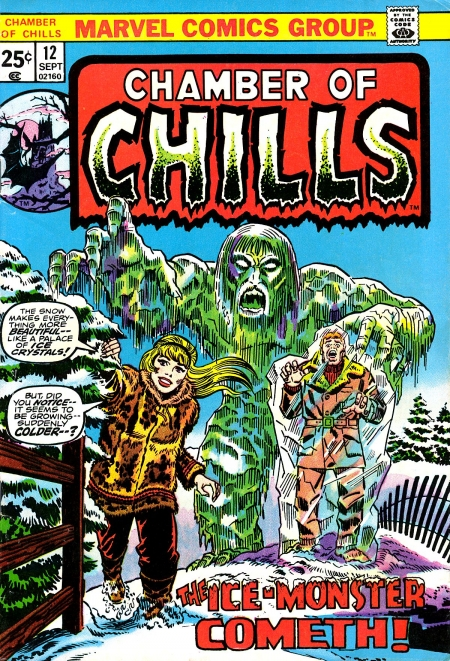 Chamber of Chills 12 Cover Image