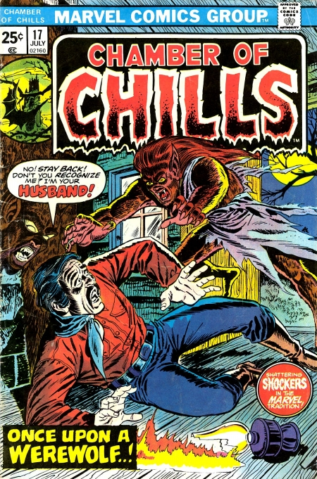 Chamber of Chills 17 Cover Image