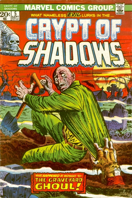 Crypt of Shadows 5 Cover Image