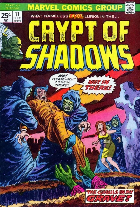 Crypt of Shadows 11 Cover Image