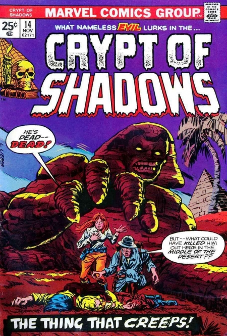 Crypt of Shadows 14 Cover Image