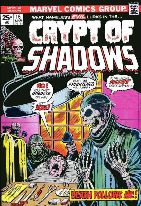 Crypt of Shadows 16 Cover Image