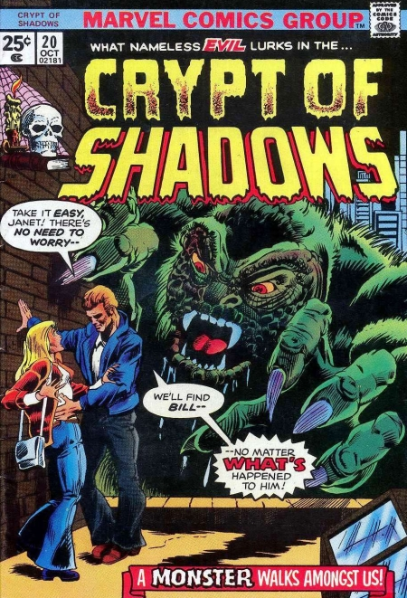 Crypt of Shadows 20 Cover Image