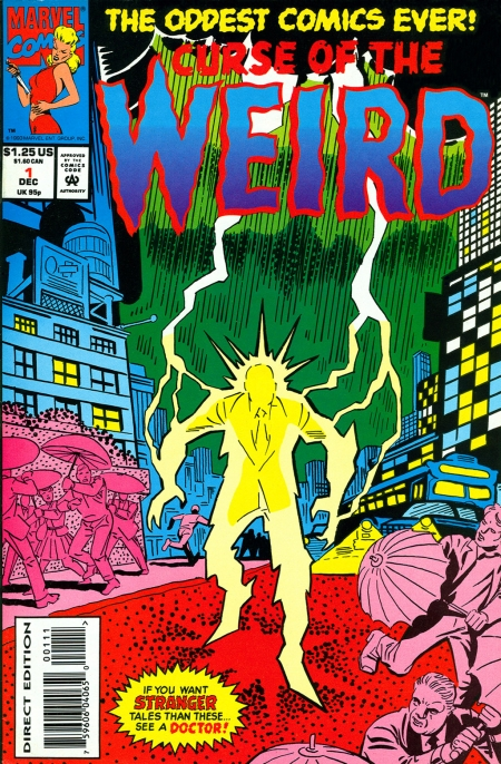 Curse of the Weird 1 Cover Image