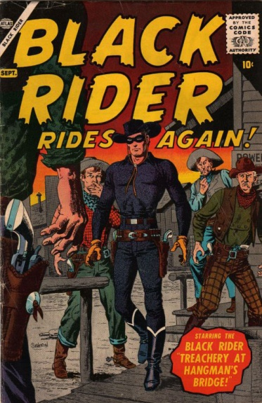 The Black Rider Rides Again! 1 Cover Image