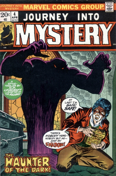Journey Into Mystery 4 Cover Image