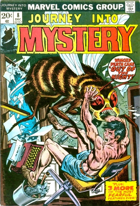 Journey Into Mystery 8 Cover Image