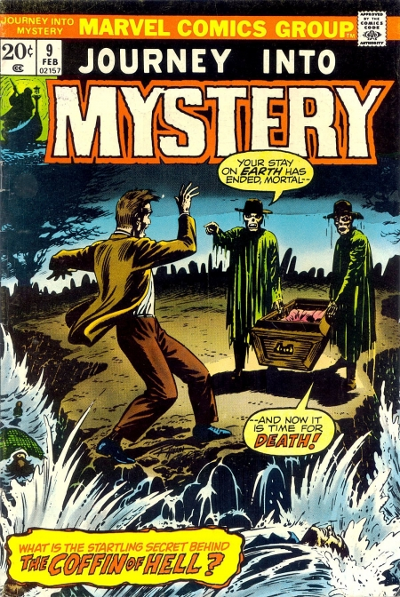 Journey Into Mystery 9 Cover Image