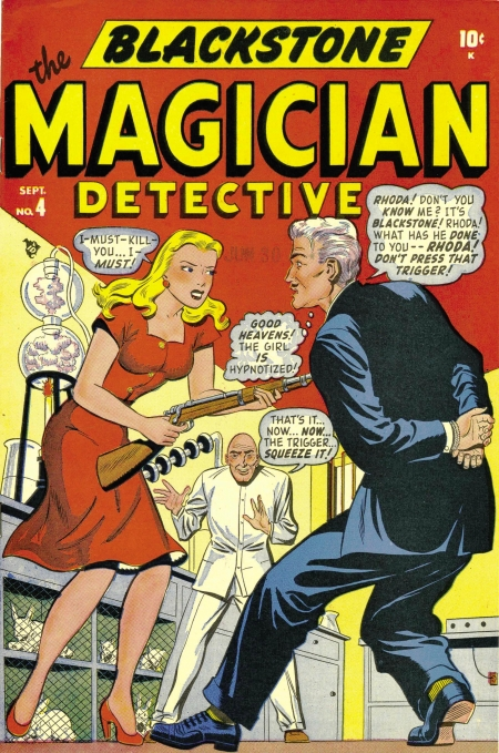 Blackstone The Magician 4 Cover Image
