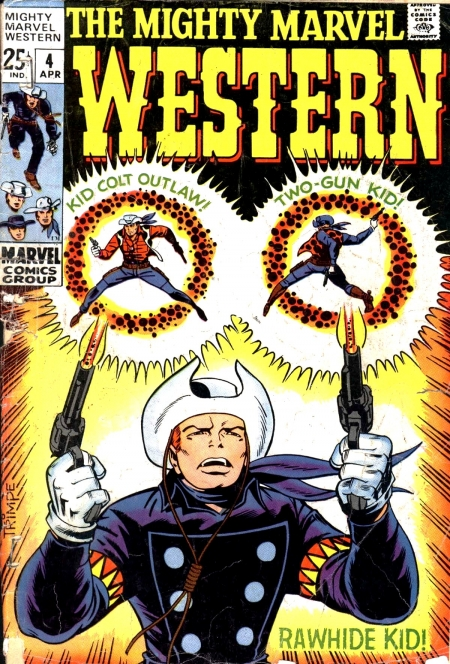 Mighty Marvel Western 4 Cover Image