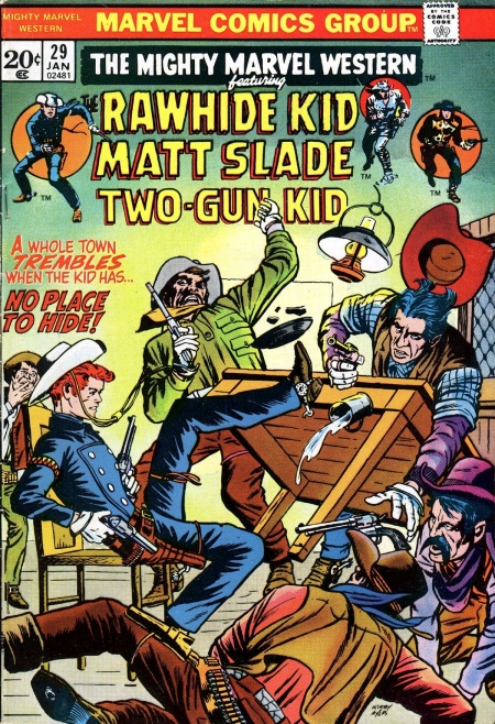 Mighty Marvel Western 29 Cover Image