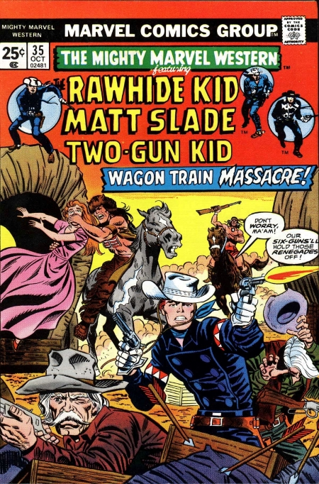 Mighty Marvel Western 35 Cover Image