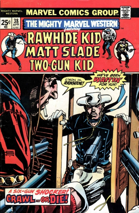 Mighty Marvel Western 38 Cover Image