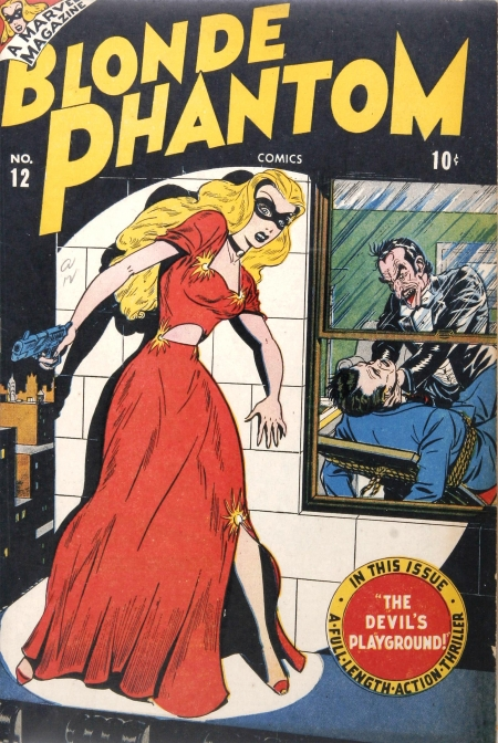 Blonde Phantom 12 Cover Image