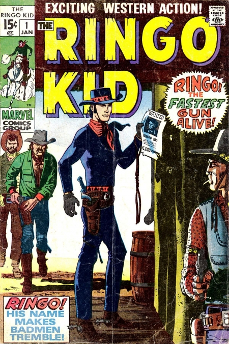 The Ringo Kid V2 1 Cover Image