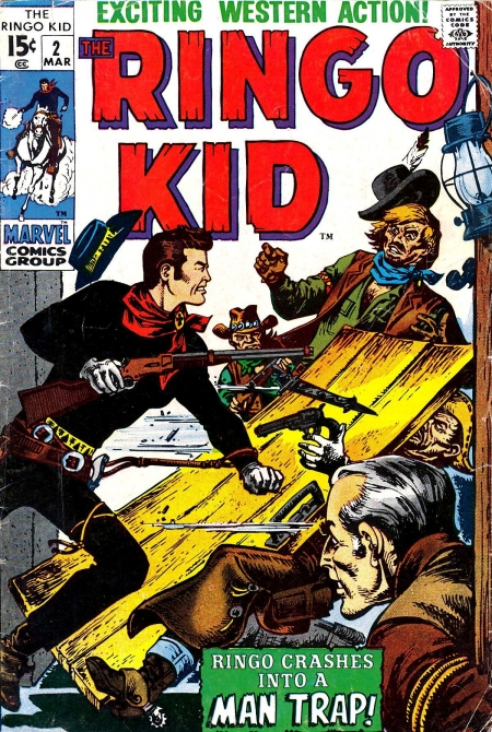 The Ringo Kid V2 2 Cover Image