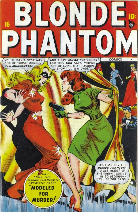 Blonde Phantom 16 Cover Image