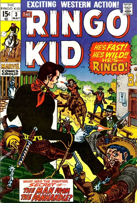 The Ringo Kid V2 3 Cover Image