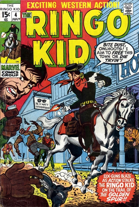 The Ringo Kid V2 4 Cover Image