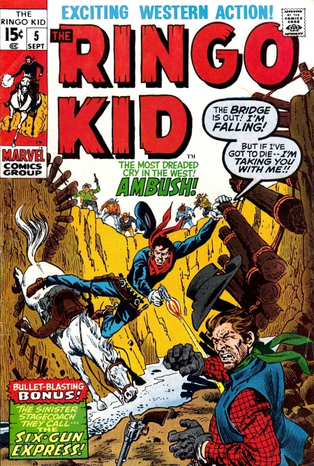 The Ringo Kid V2 5 Cover Image