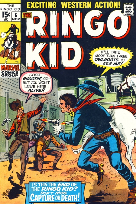 The Ringo Kid V2 6 Cover Image