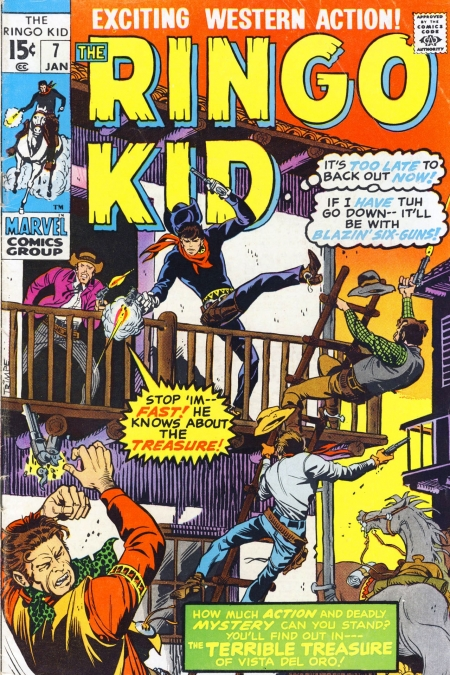 The Ringo Kid V2 7 Cover Image
