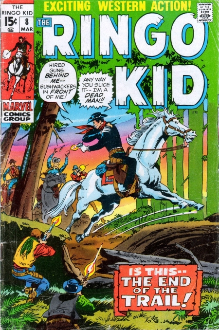 The Ringo Kid V2 8 Cover Image