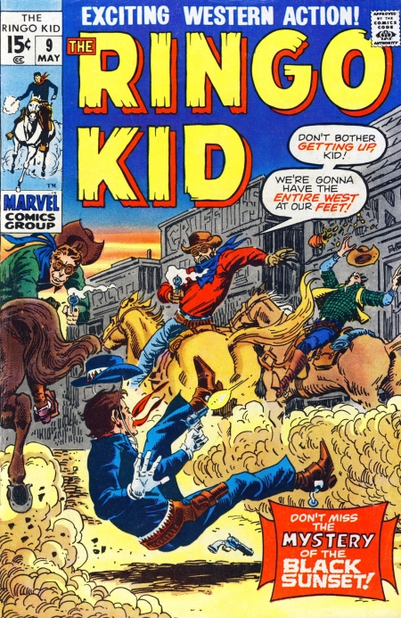 The Ringo Kid V2 9 Cover Image