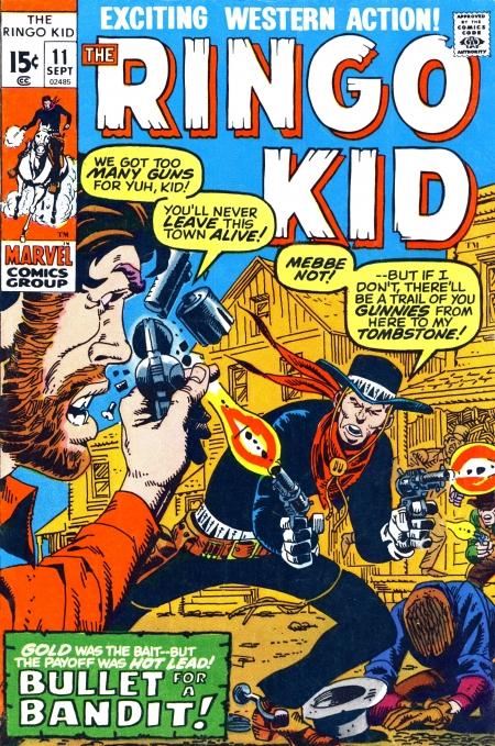 The Ringo Kid V2 11 Cover Image