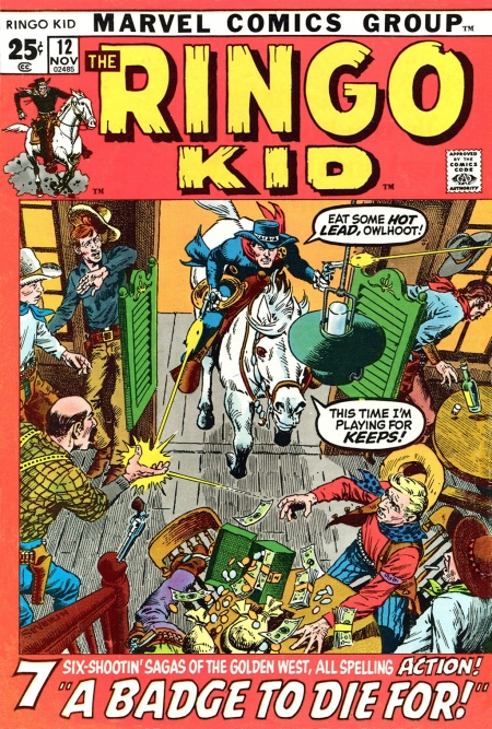 The Ringo Kid V2 12 Cover Image