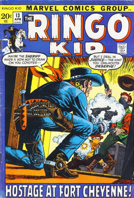 The Ringo Kid V2 13 Cover Image