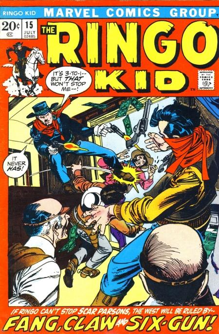 The Ringo Kid V2 15 Cover Image