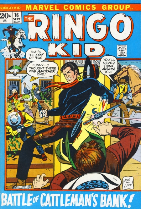 The Ringo Kid V2 16 Cover Image