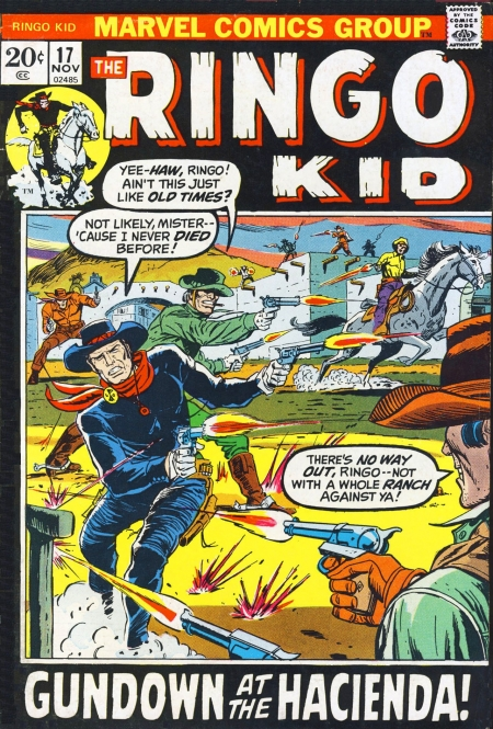 The Ringo Kid V2 17 Cover Image
