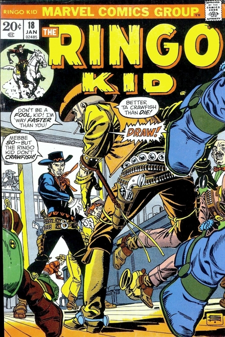 The Ringo Kid V2 18 Cover Image